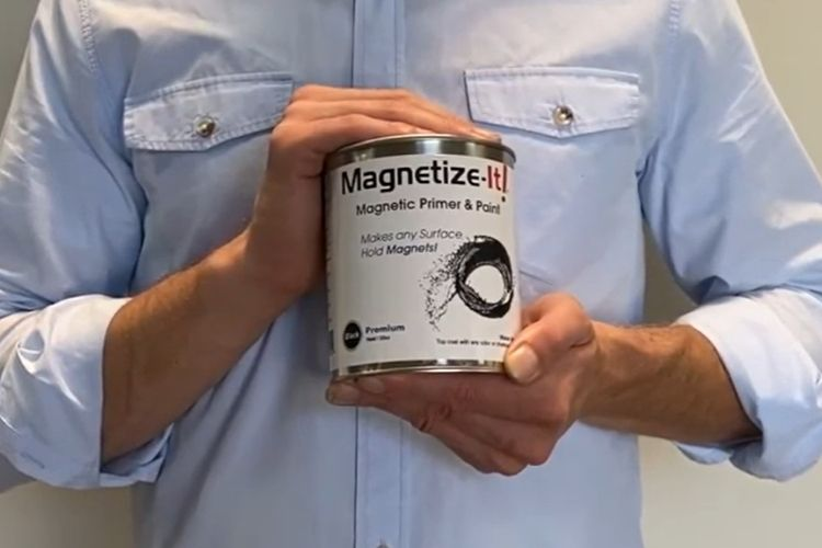 Magnetic Paint for Magnetic and Creative Wall Design